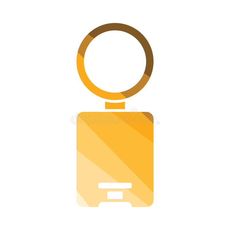 Trash can icon royalty free illustration