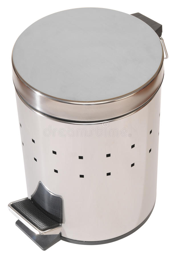 Free Trash Can. Isolated Royalty Free Stock Images - 12315719