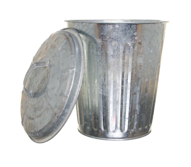 Download Trash can, lid off stock image. Image of dirt, trash, throw - 6575277