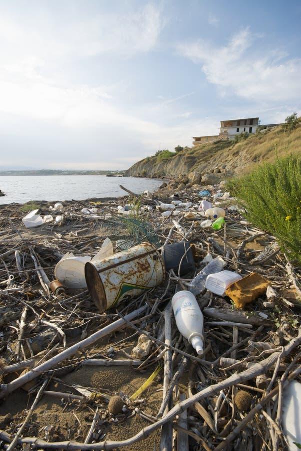 Download Trash in Italian Sea editorial stock image. Image of debris - 10106949