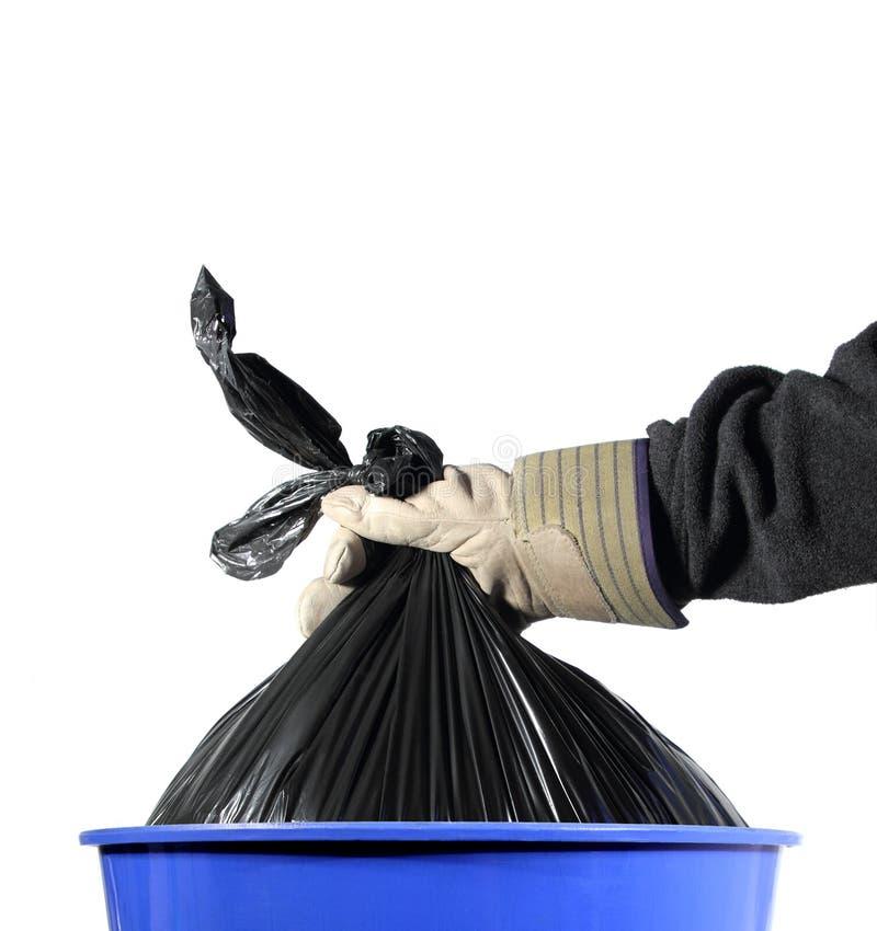 Trash job stock images
