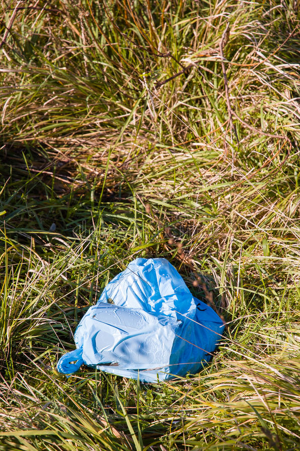 Trash in Nature. Too much trash in Nature left by disrespectful people royalty free stock photos
