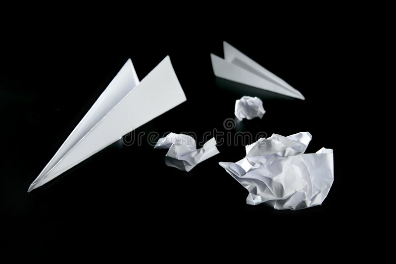 Download Trash paper and air plane stock photo. Image of airplane - 9096168