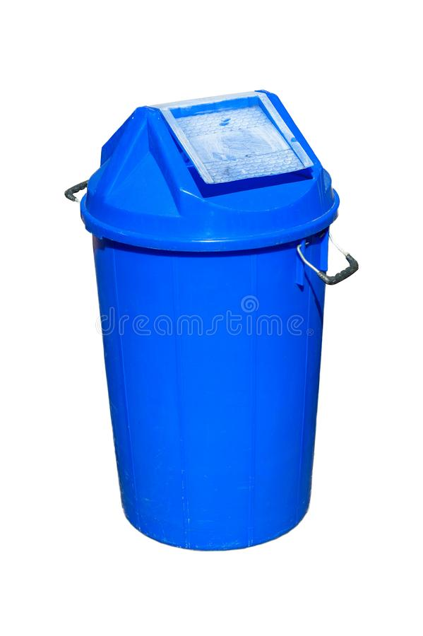 Trash that is separate from the background material, durable plastic. stock photos
