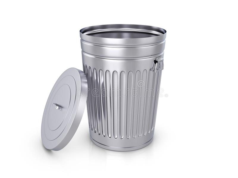 trashcan иллюстрация штока