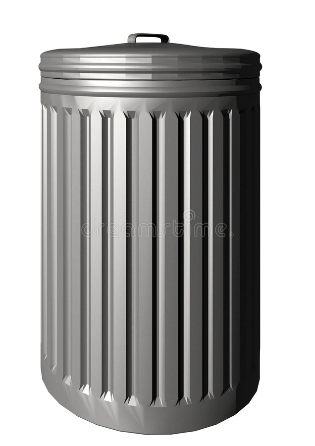 Trashcan ilustración del vector