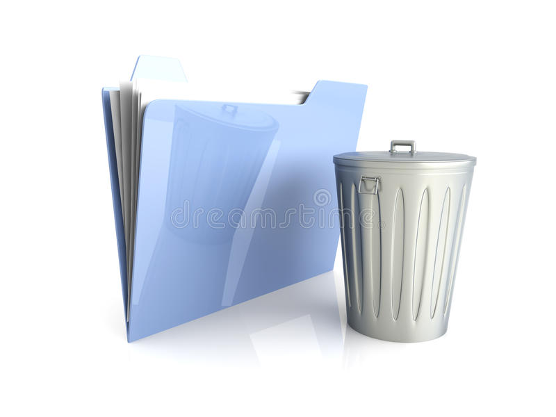 Trashed Document Royalty Free Stock Images