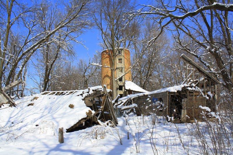 Download Trashed Farm stock image. Image of building, minnesota - 19505537