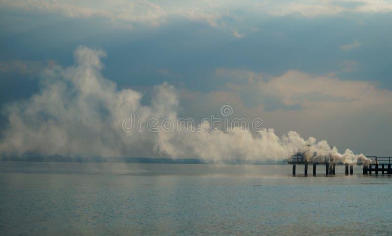 Trasimeno Lake royaltyfria bilder