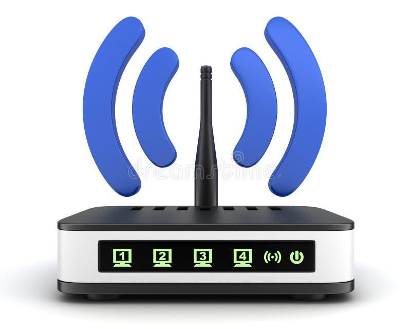 Trasmettitore Wi-Fi royalty illustrazione gratis