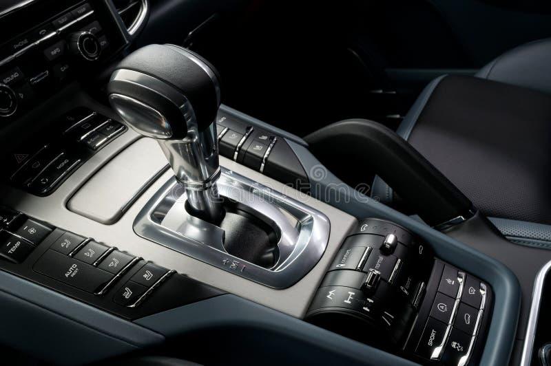 Trasmissione automatica dell'automobile immagini stock