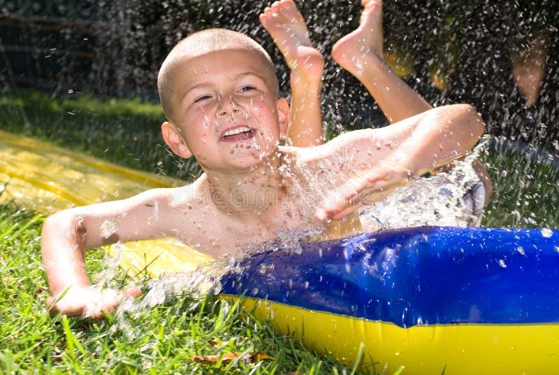 Trasparenza e bambino di acqua immagine stock