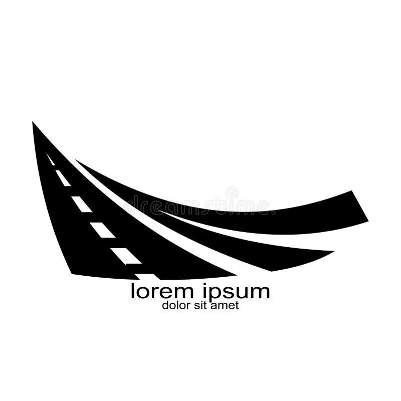 Trasportation del diseño del logotipo de la calle libre illustration
