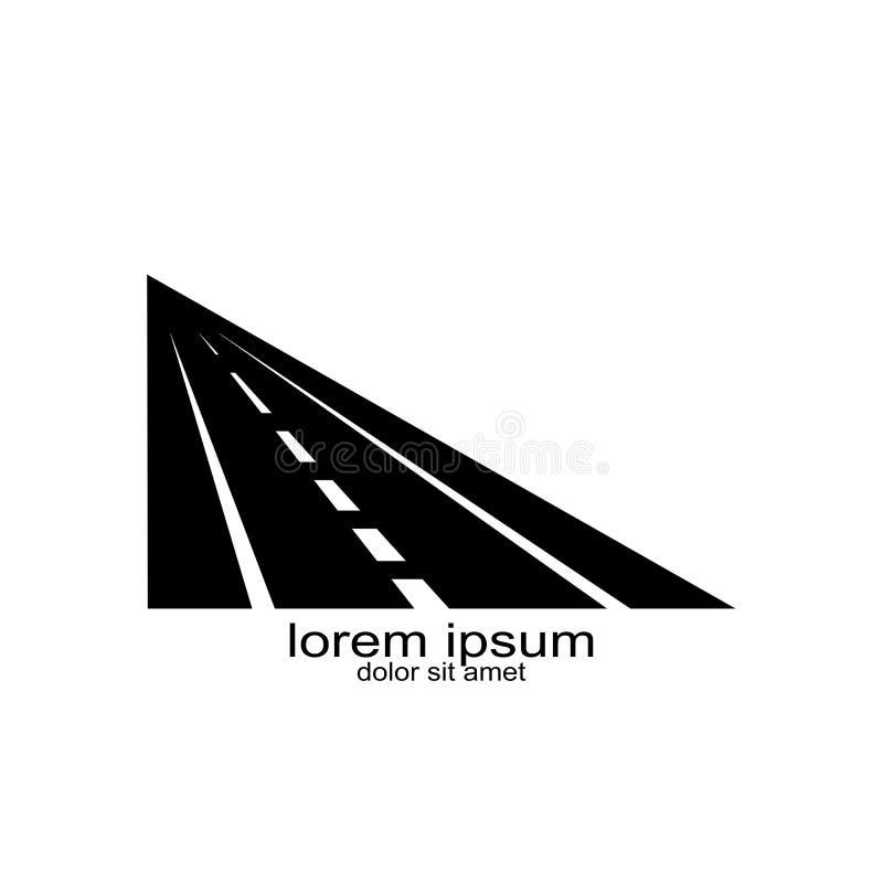 Trasportation del diseño del logotipo de la calle ilustración del vector