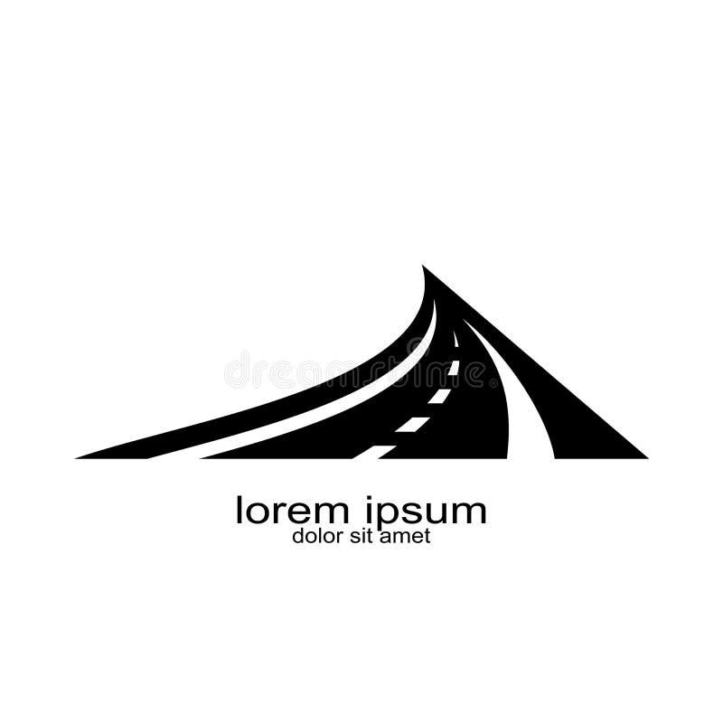 Trasportation del diseño del logotipo de la calle stock de ilustración