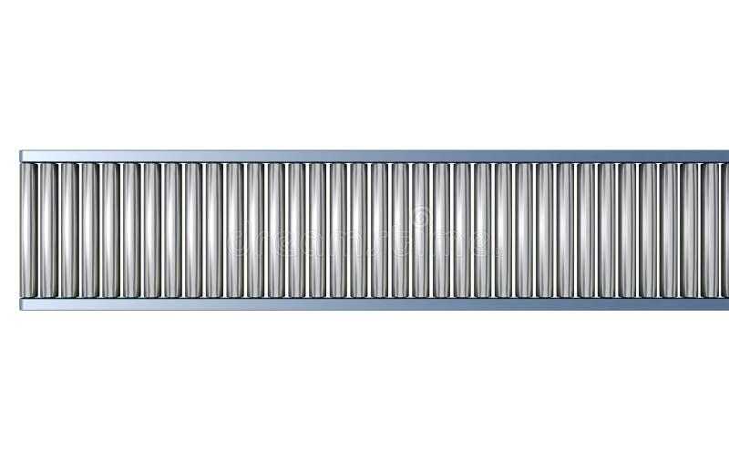 Trasportatore a rulli illustrazione di stock