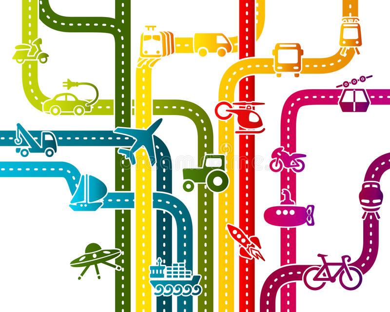 Trasporto royalty illustrazione gratis