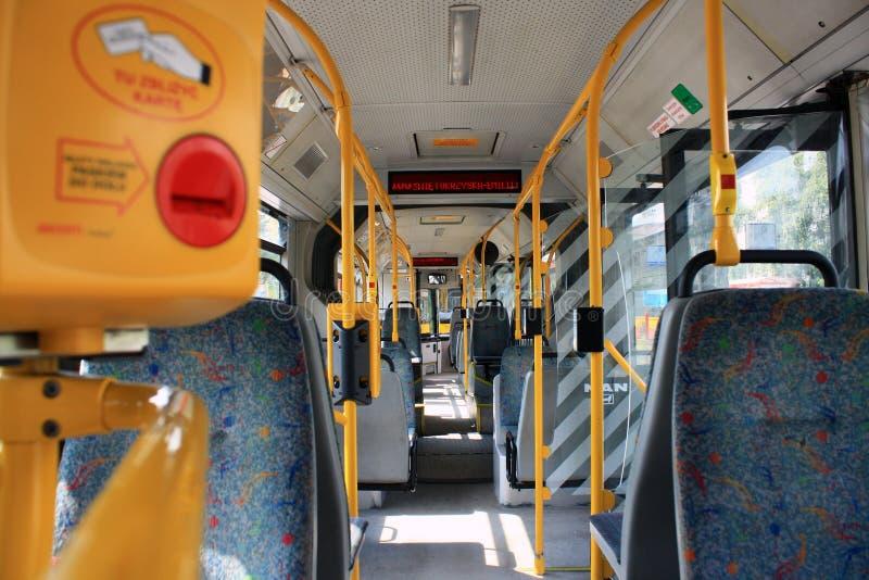 trasporto in bus fotografie stock