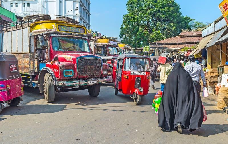 Trasporto a Colombo fotografia stock