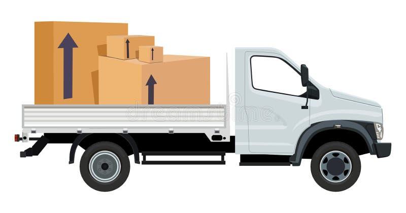 Trasporto del carico illustrazione di stock