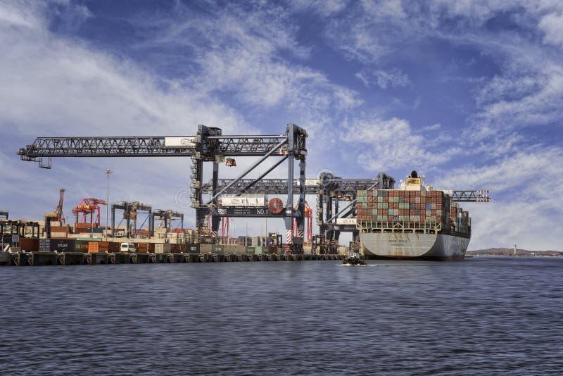 Trasporto dell'esportazione e dell'importazione fotografia stock