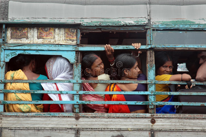 Trasporto dell'Sundarban-India fotografia stock
