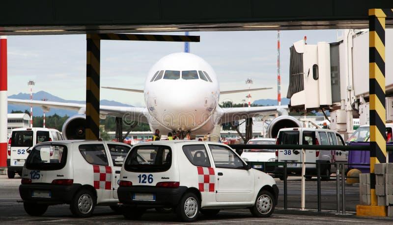Trasporto di aeroporto immagini stock libere da diritti