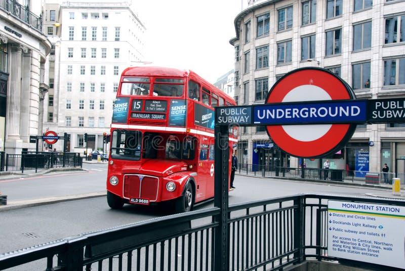 Trasporto di Londra immagine stock
