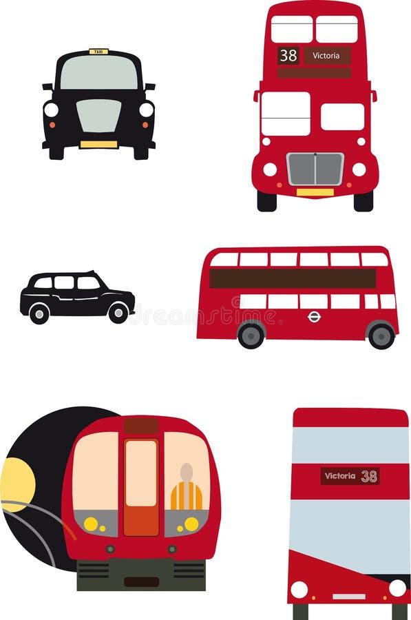Trasporto di Londra royalty illustrazione gratis