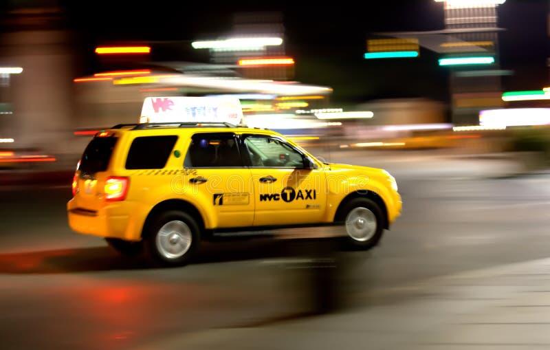 Trasporto di New York, servizio di taxi fotografia stock