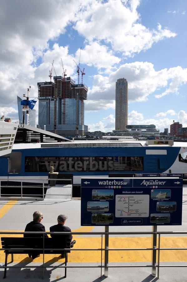 Trasporto di Rotterdam immagine stock libera da diritti