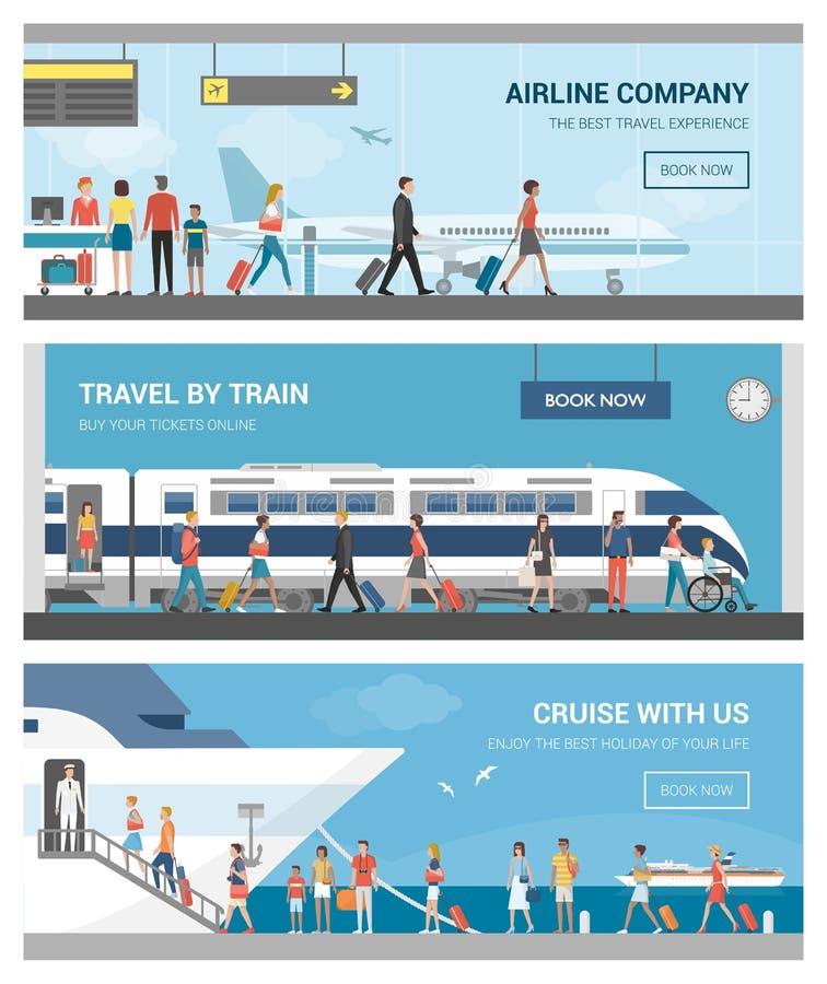 Trasporto e corsa royalty illustrazione gratis