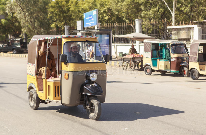 Trasporto nel Pakistan fotografie stock