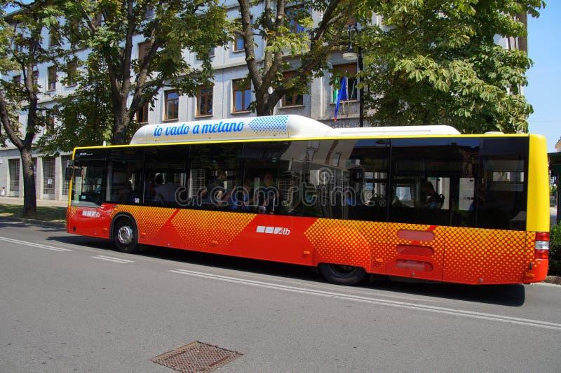 Trasporto pubblico - autobus immagini stock libere da diritti