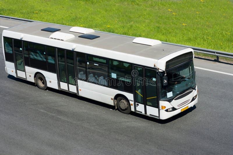 Trasporto pubblico della città immagine stock