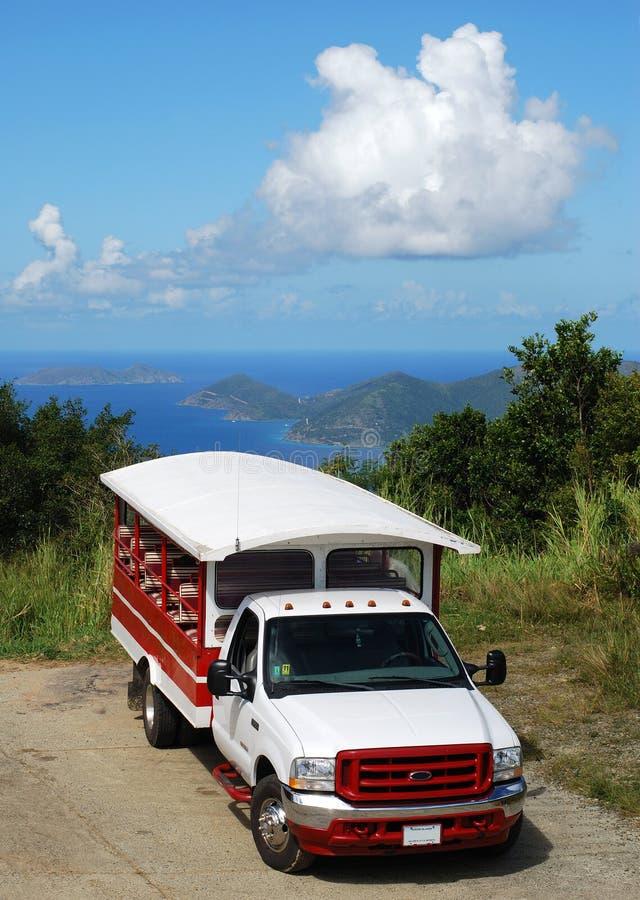 Trasporto pubblico di Tortola fotografie stock libere da diritti