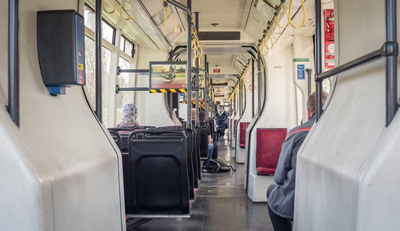 Trasporto pubblico di Vienna fotografia stock
