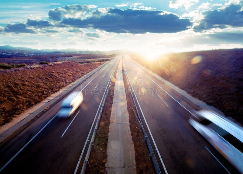 Trasporto stradale. fotografia stock libera da diritti