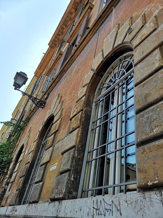 Trastevere neiborhood w Roma, Włochy obrazy stock