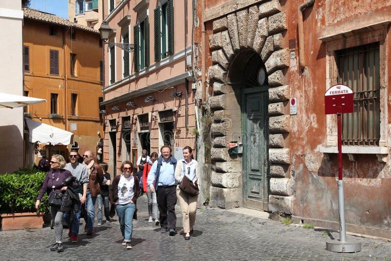 Trastevere, Rom lizenzfreie stockbilder