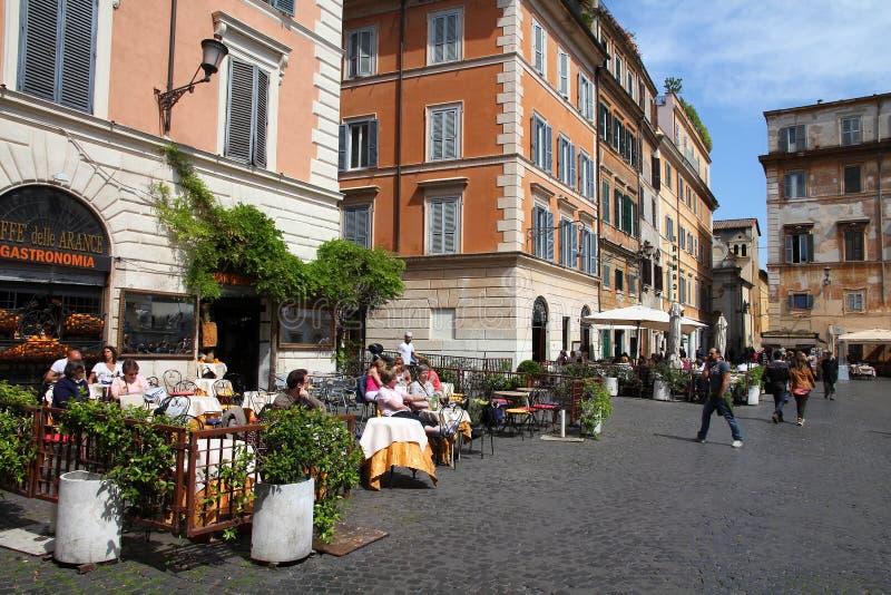 Trastevere, Roma fotografia de stock