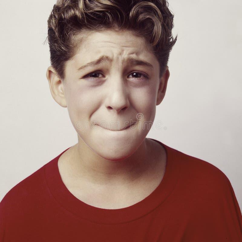 Trastorno del muchacho o sick_2 foto de archivo