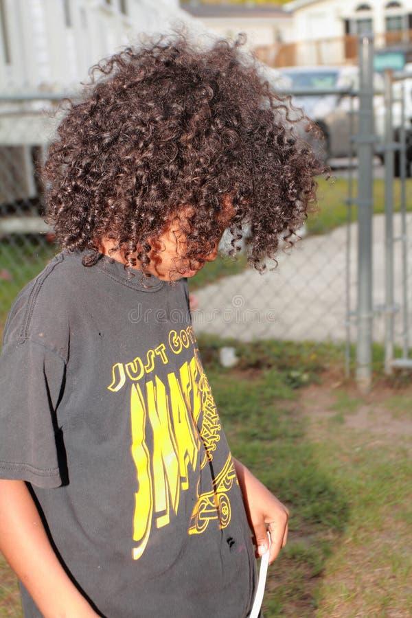 Trastorno joven del muchacho foto de archivo