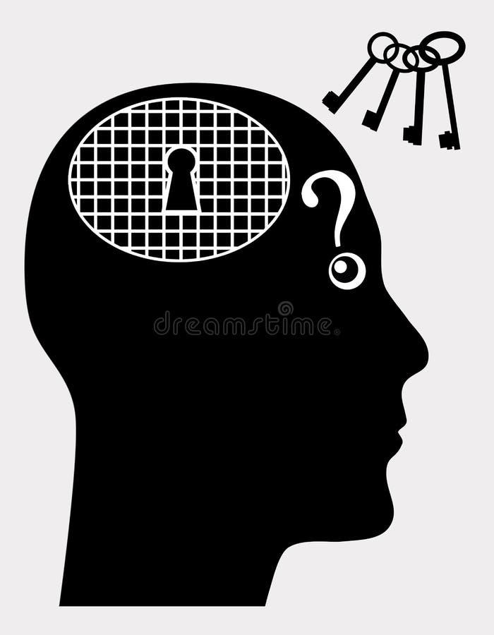 Trastorno mental libre illustration
