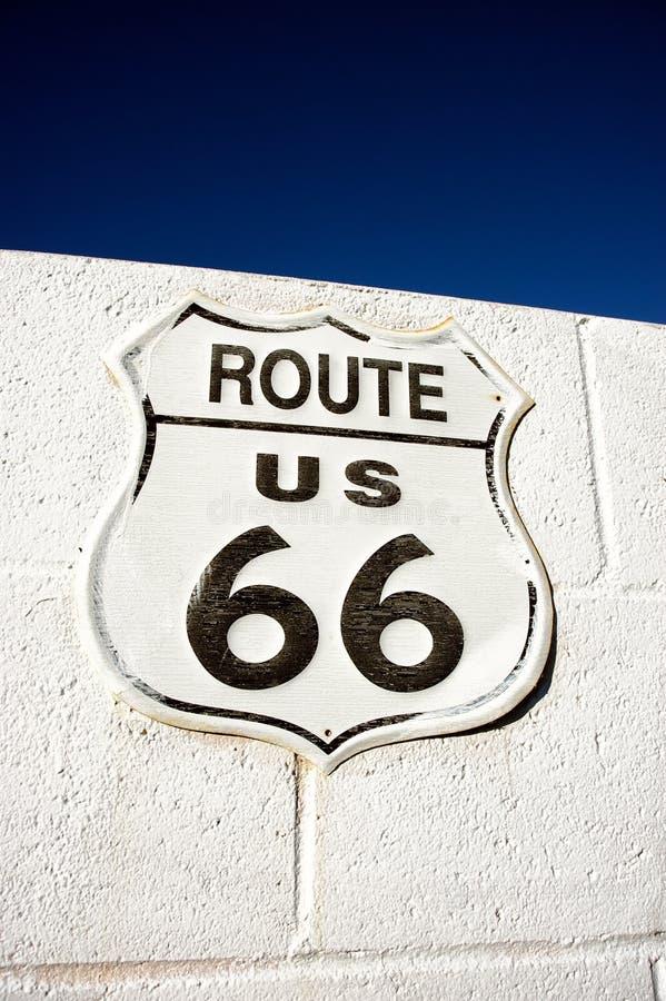 Trasy 66 znak zdjęcie stock