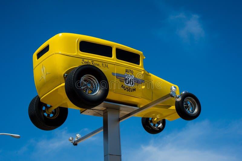 Trasy 66 samochodu muzeum obrazy royalty free