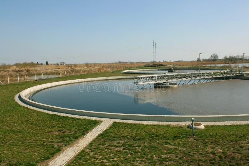 Tratamento da água imagens de stock royalty free