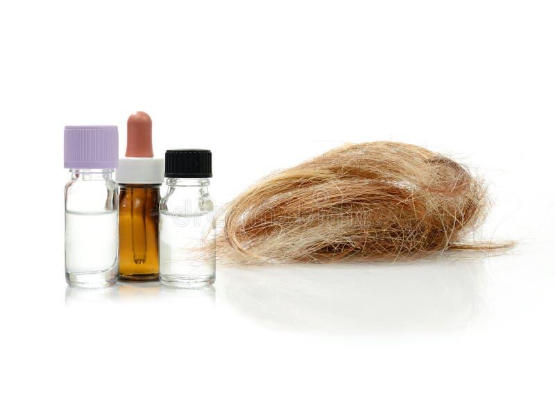 Tratamento da queda de cabelo imagens de stock royalty free