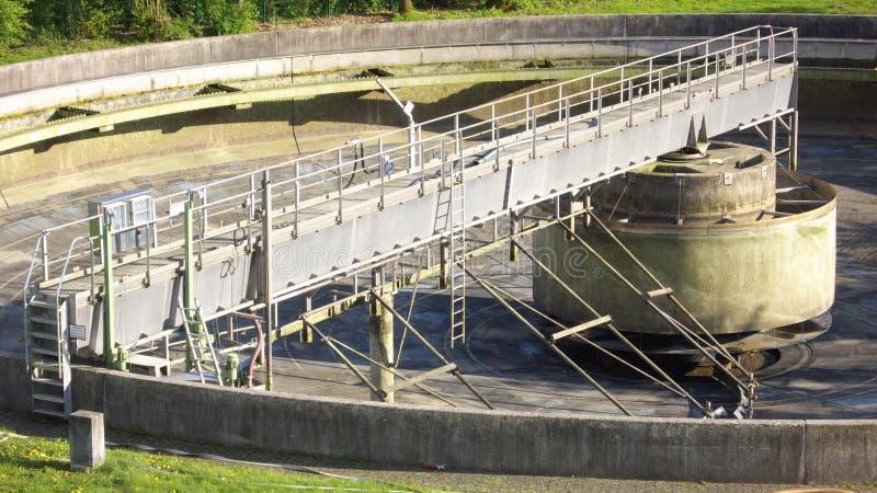 Tratamento de Wastewater foto de stock