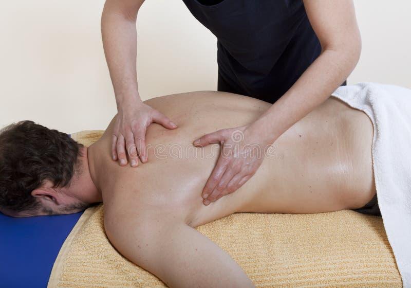 Tratamento do ombro imagens de stock